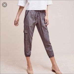 CLOTH AND STONE CARGO JOGGERS ANTHROPOLOGIE XS